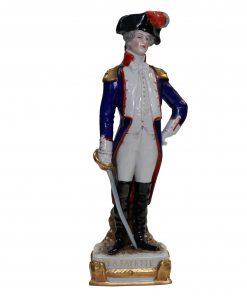 Scheibe Alsbach La Fayette Soldier figure