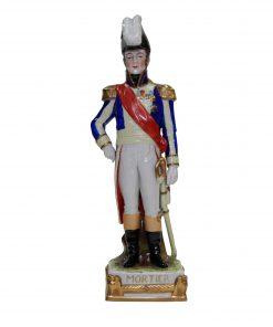 Scheibe Alsbach Mortier soldier figure