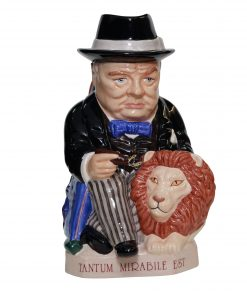Kevin Francis Winston Churchill Spirit of Britain Toby jug