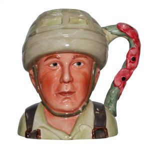 Hero Comes Home Jug - Royal Worcester Jug
