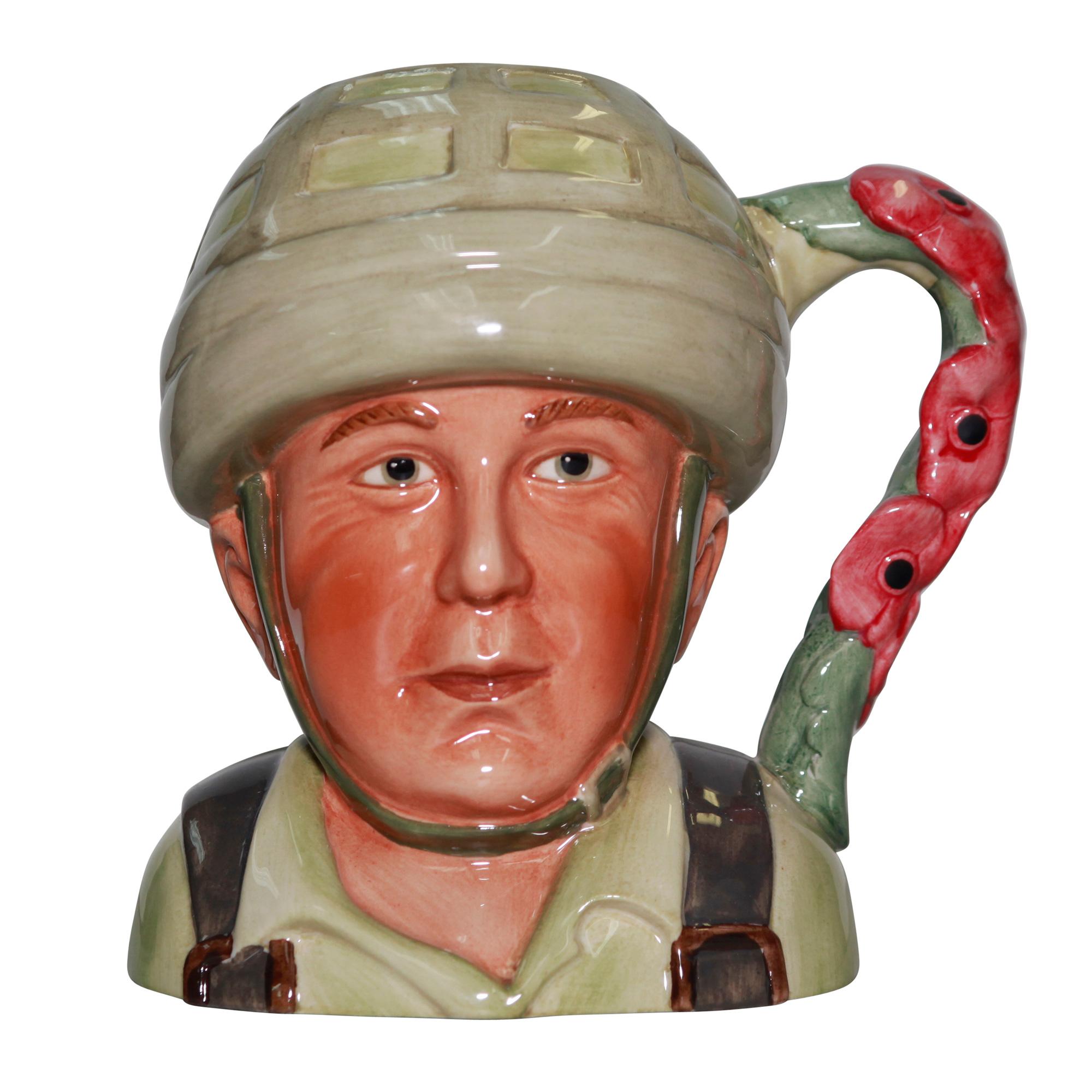 Hero Comes Home Jug - Royal Worcester Jug