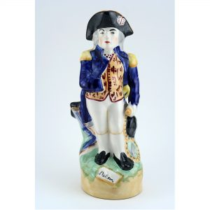 Staffordshire Lord Nelson Toby jug