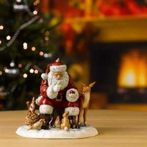 A Woodland Christmas - 2017 Father Christmas Figure of the Year HN5782 - Royal Doulton Figurine
