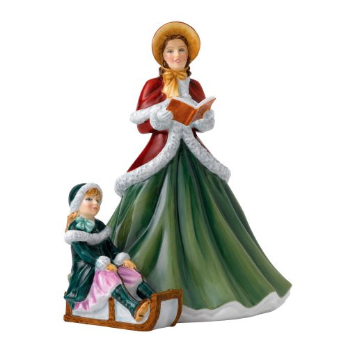 Hark The Herald Angels Sing HN5859 - Royal Doulton Figurine