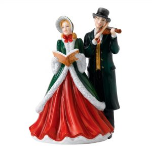 I Heard The Bells On Christmas Day HN5858 - Royal Doulton Figurine