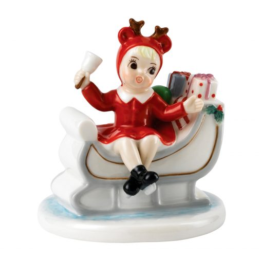 Sleigh Full Gifts NF006 - Royal Doulton Figurine