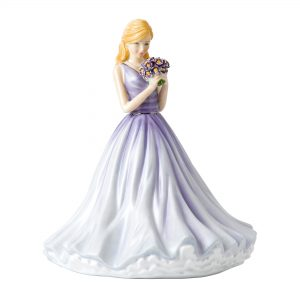 True Love (Forget-Me-Not) HN5838 - Royal Doulton Figurine