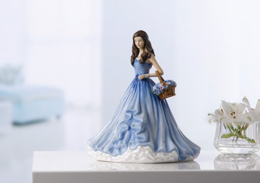 True Love Forget Me Not HN5836 - Royal Doulton Figurine