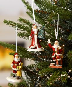 Santa & Tree Ornament HN5861 - Royal Doulton Figurine