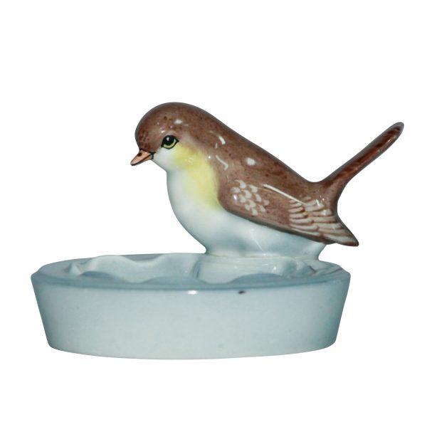 Bird on Round Dish - Royal Doulton Animal