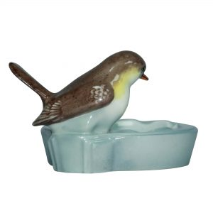 Bird on Round Dish - Royal Doulton Animal