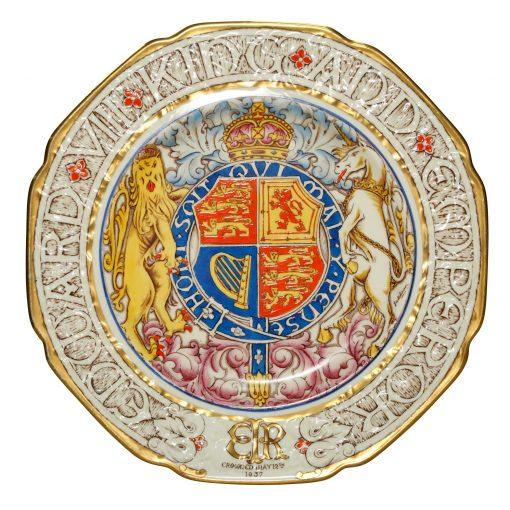 Edward VIII Plaque Paragon 10_ - Commemorative