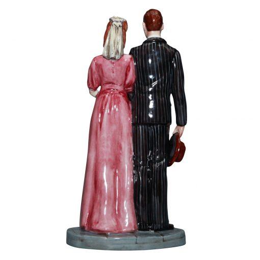 Civilian Wedding HN5022 - Royal Doulton Figure