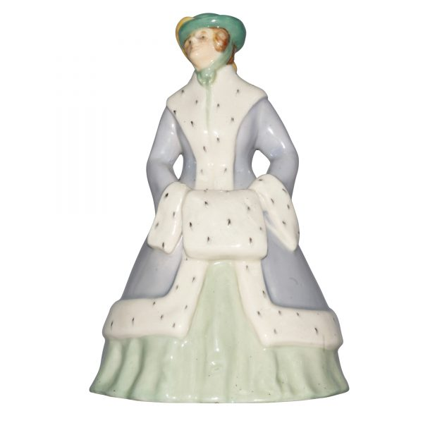 Ermine Muff HN54 - Royal Doulton Figurine