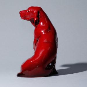 Flambe English St. Bernard HN231 - Royal Doulton Animal