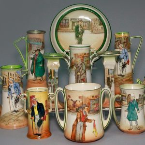 Royal Doulton Dickens Vases