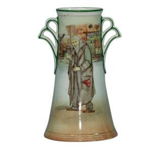Dickens Fagin Vase 7.25H - Royal Doulton Seriesware
