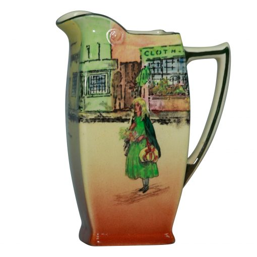 Dickens Little Nell Pitcher 6H - Royal Doulton Seriesware