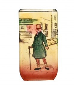Dickens Mr Micawber Mini VaseS - Royal Doulton Seriesware