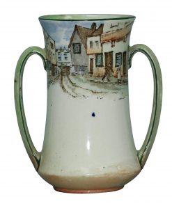 Dickens Mr Micawber Vase 5H - Royal Doulton Seriesware