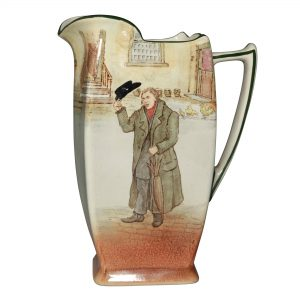 Dickens Mr Squeers Pitcher 8H - Royal Doulton Seriesware