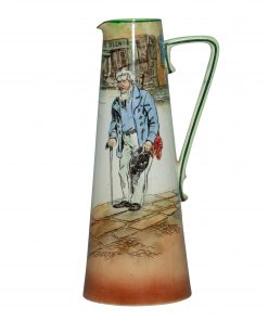 Dickens Old Peggoty Pitchr 8.5 - Royal Doulton Seriesware