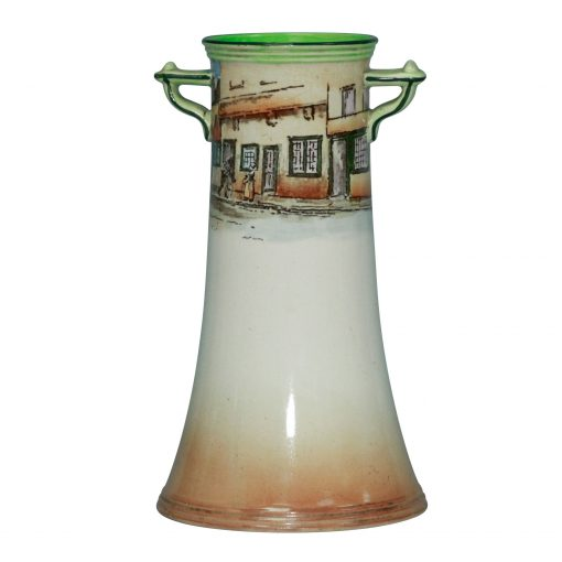 Dickens Old Peggoty Vase 7.25H - Royal Doulton Seriesware