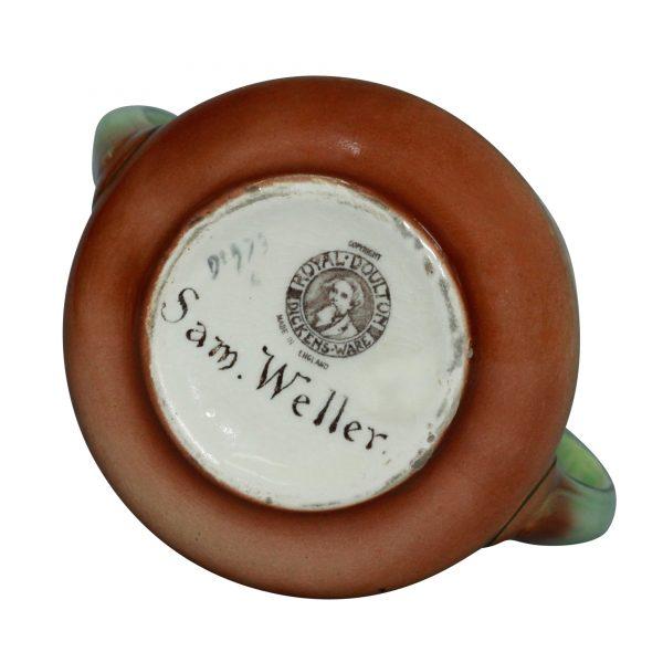Dickens Sam Weller Vase 6.5H - Royal Doulton Seriesware
