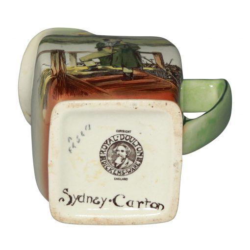 Dickens Sydney Carton Pitcher - Royal Doulton Seriesware