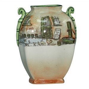 DickensTrotty Veck Vase 5.75H - Royal Doulton Seriesware