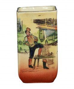 Dickens Weller Mini Vase 2H - Royal Doulton Seriesware