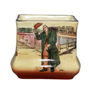 Mr. Squeers Mini Vase - Royal Doulton Seriesware