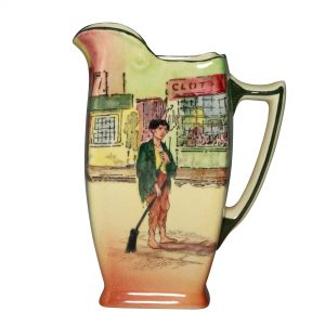 Dickens Poor Jo Pitcher 5H - Royal Doulton Seriesware