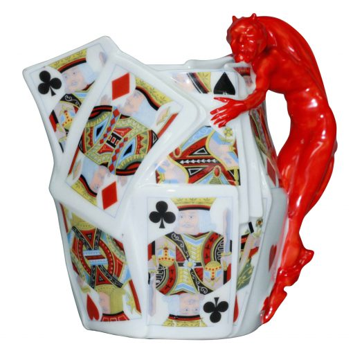 Bavaria Devil Card Pitcher