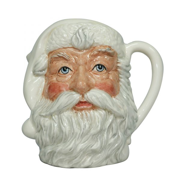 Santa Claus (White) D6704 - Large Royal Doulton Character Jug