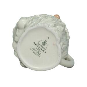 Santa Claus (White) D6704 - Large Royal Doulton Character Jug