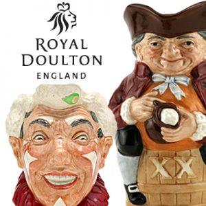 Royal Doulton Character Jugs & Toby Mugs
