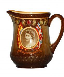 Queen Elizabeth II Pitcher - Royal Doulton Commemorative