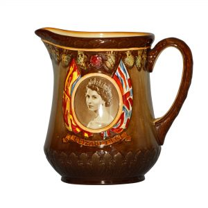 Queen Elizabeth II Pitcher - Royal Doulton Commemorative