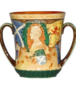 George VI Elizabeth LVC Corona - Royal Doulton Commemorative