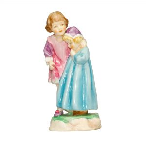 Babes in the Wood RW3302 - Royal Worcester Figurine