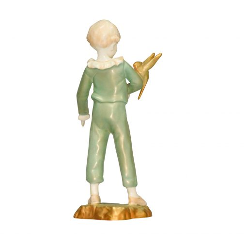 Boy with Parakeet Green RW3087 RW3087 - Royal Worcester Figurine