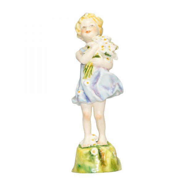 England RW3075 (Blue) RW3075 - Royal Worcester Figurine