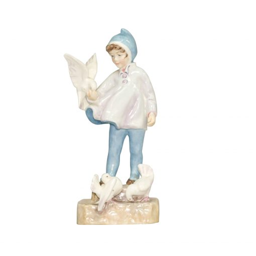 Fantails RW3760 - Royal Worcester Figurine