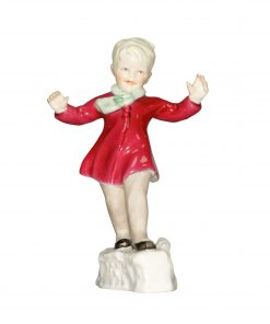 January RW3452 RW3452 - Royal Worcester Figurine