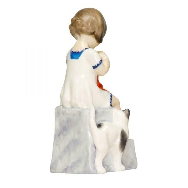 Saturday's Child (Girl) RW3262 - Royal Worcester Figurine