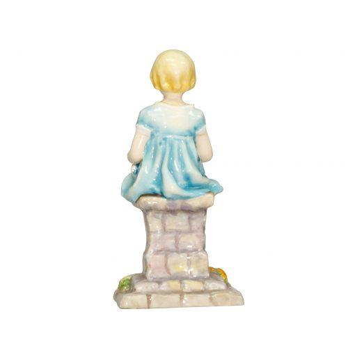 Sunshine RW3083 Blue RW3083 - Royal Worcester Figurine