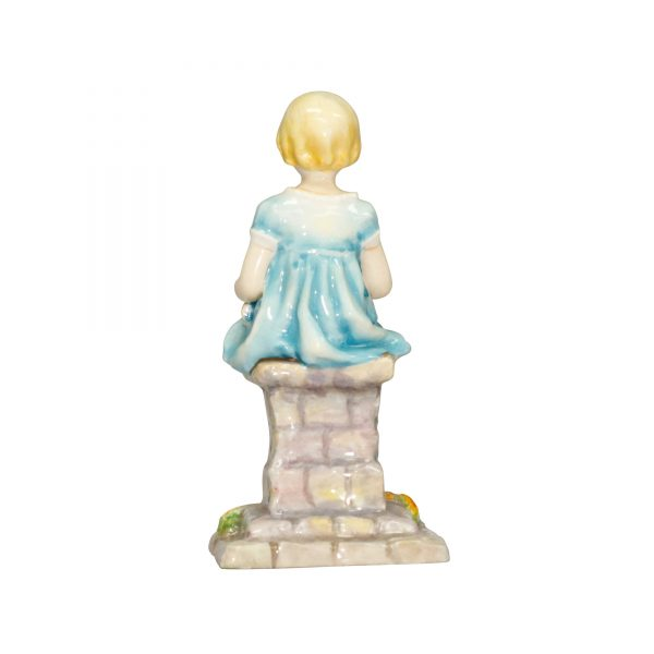 Sunshine RW3083 Blue RW3083 - Royal Worcester Figurine
