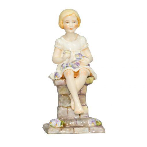 Sunshine RW3083 White RW3083 - Royal Worcester Figurine