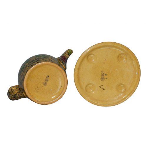 Peonies A D3523 - 2pc. Teapot and Trivet Set - Royal Doulton Seriesware